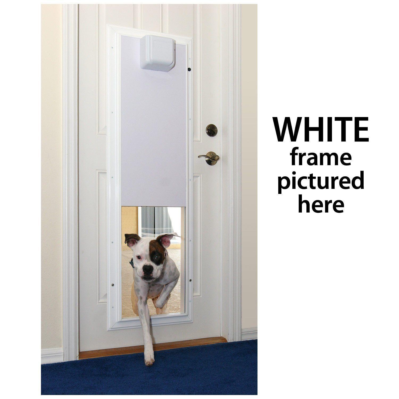 Pet And Child Safe Won T Close When Obstructed Best Automatic Dog Doors Dog Door Automatic Dog Door Pet Door