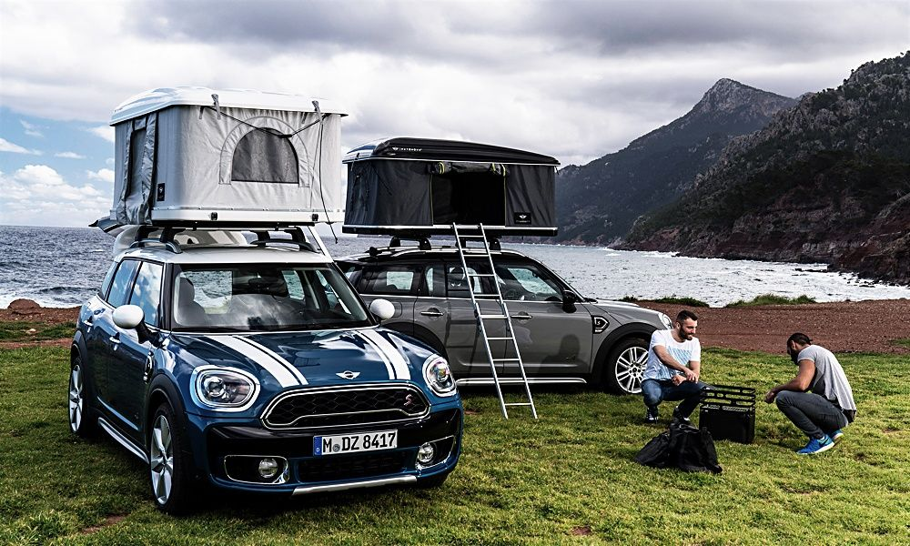 Camp On Top Of Your Mini Countryman With This Tent Mini Countryman Roof Tent Mini Cooper Countryman
