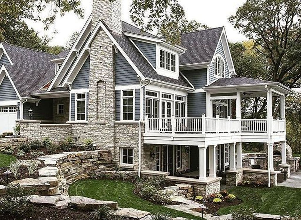 48 Splendid Lake House Home Decor Ideas Lake Houses Exterior House Exterior House Designs Exterior