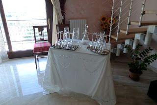 tavola  e allestimenti casa sposa