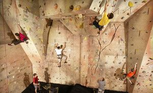 Groupon - Intro to Climbing Package for One, Visits for Two, or Climbing Package for Four at Upper Limits Rock Gym (Up to 56% Off) in Bloomington. Groupon deal price: $15.0.00