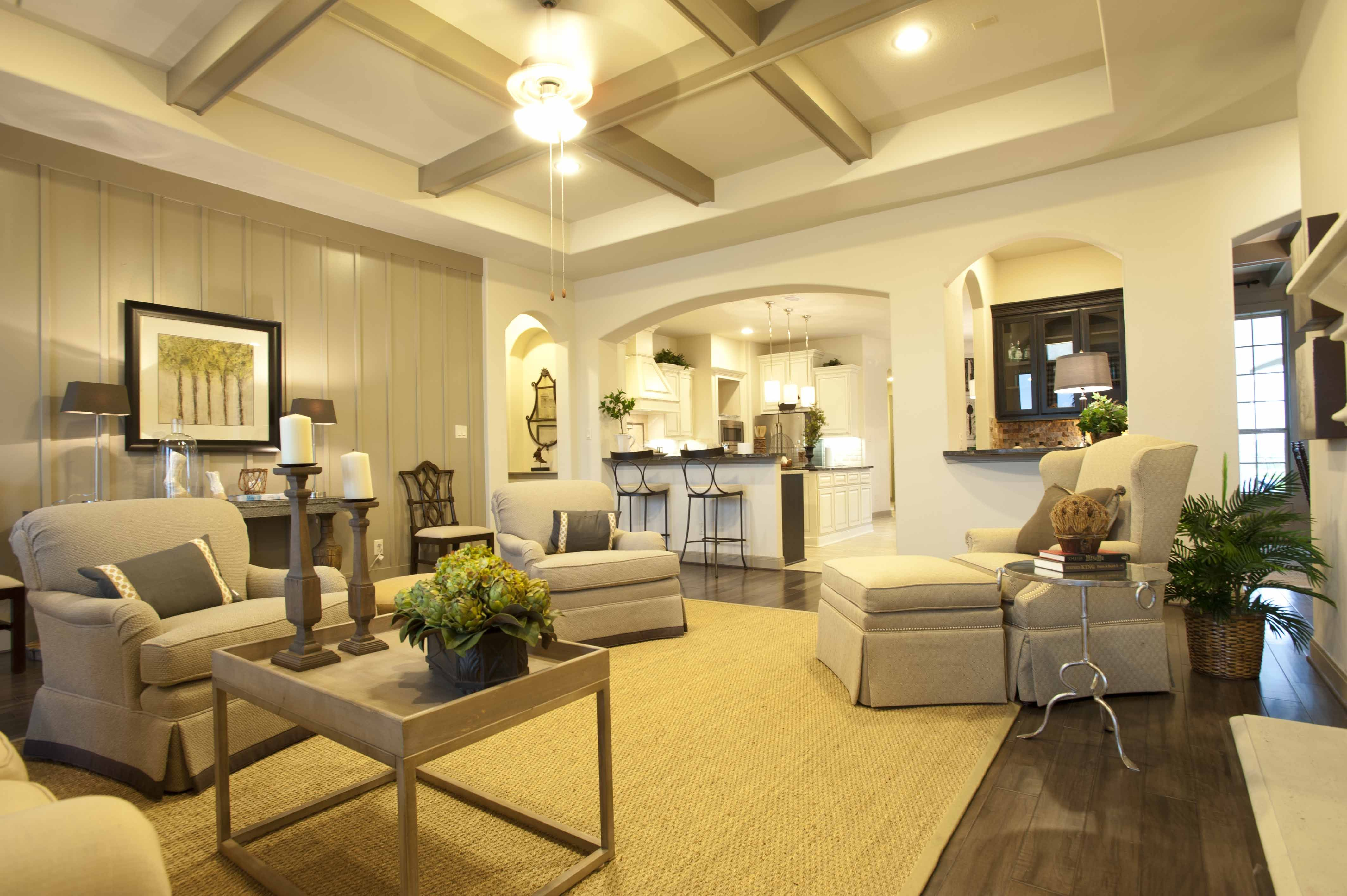 Model Home Furniture Katy Tx Coventry Homes Model Home In Katy Txavalon At Spring Green .