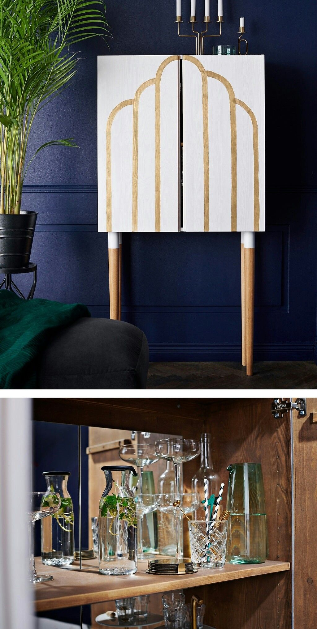 Einfaches haus design bilder einzigen stock ikea mirror makes the bar cart  nice in   pinterest  ikea
