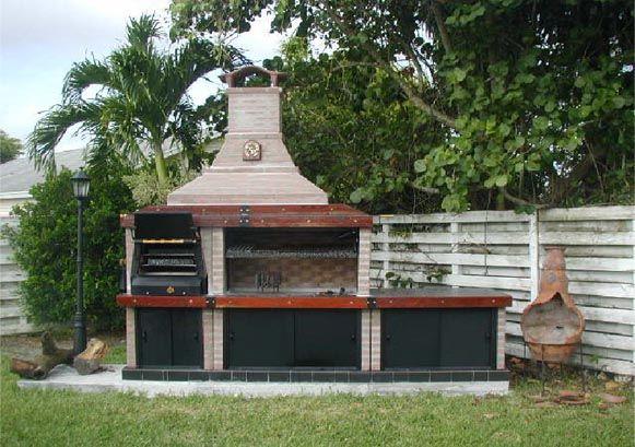 Zona ocio como construir parrillas casas y decoracion - Como construir una barbacoa de obra ...