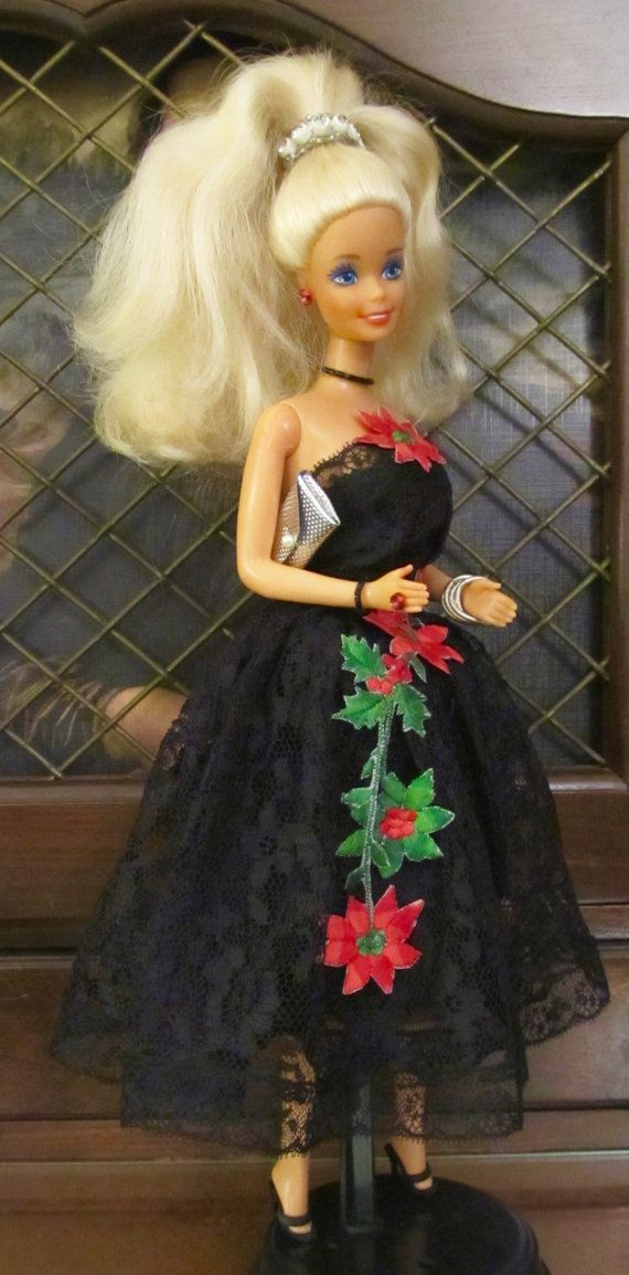 Christmas Barbie  Noel  1966 Dressed By Mimi's by DressMeDoll