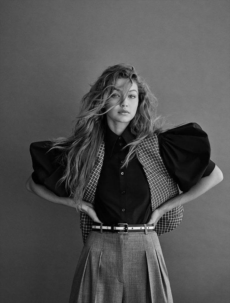 Gigi Hadid for Vogue Germany November 2019