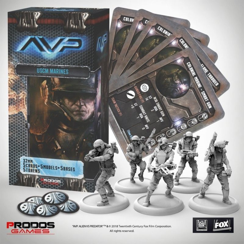 Other Miniatures and War Games 2537: Prodos Avp - Uscm Marines