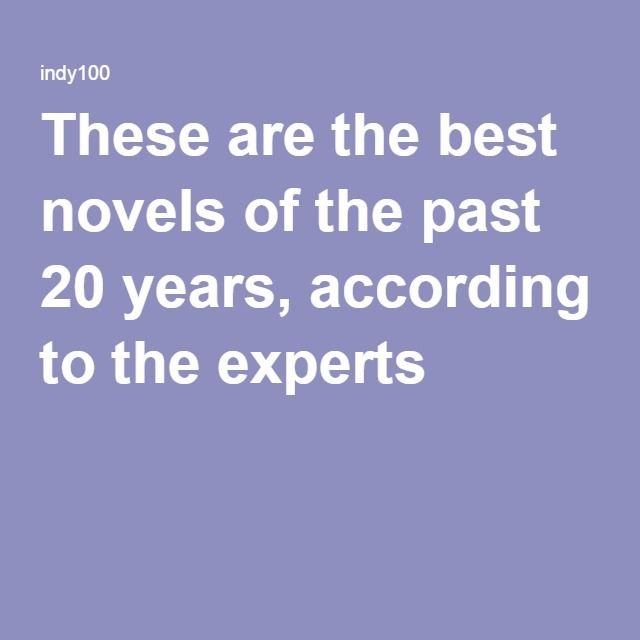 These are the best novels of the past 20 years, according to the experts