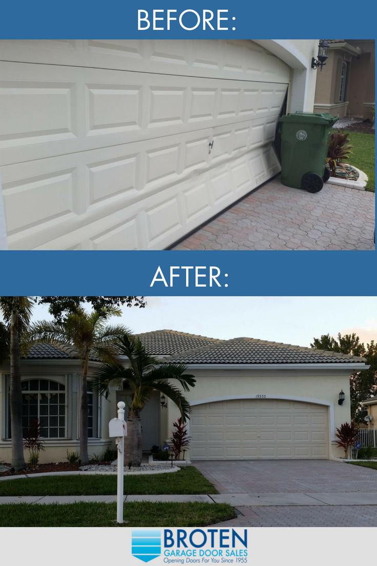 When Accident Occur It S Always Safest To Replace The Product To Protect Yourself And Your Home Security Garage Doors For Sale Garage Doors Home Estimate