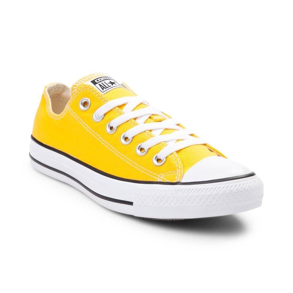 89d2329fa870 Converse Chuck Taylor All Star Lo Sneaker - Lemon - 398231 Women s size 7  (men s 5)