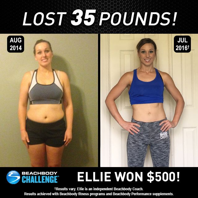 Beachbody Results This Mom Lost 35 Pounds And Won 500 Before And