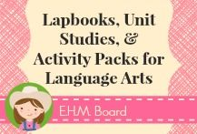 Follow along with the Lapbooks, Unit Studies, & Activity Packs for Language Arts board! Resources, activities, printables, and activity packs to help with making Language Arts fun!  Great resources for unit reviews as well.