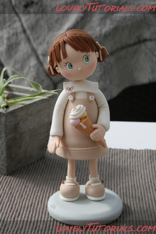 Cake Decorating Figures : ??????? ???????-Girl Cake topper figurines - ??????-?????? ...