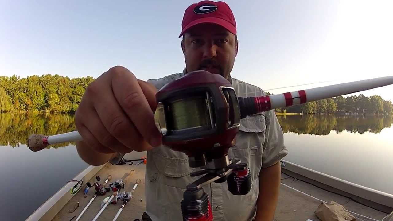 Fishing for beginners how to put line on a baitcaster