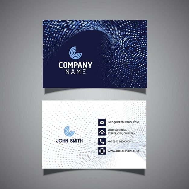 Tarjeta corporativa azul oscuro vector gratis invitacion more than a million free vectors psd photos and free icons exclusive freebies and all graphic resources that you need for your projects reheart Choice Image