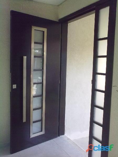 Resultado de imagen para puertas entrada principal con for Puertas entrada principal modernas