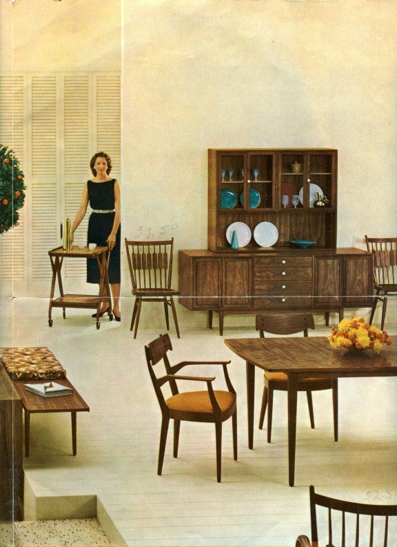 Midcentury Modern Dining Room Furniture From Drexel Heritage Custom Drexel Dining Room Furniture Inspiration Design