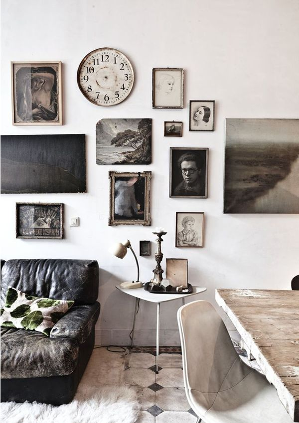 Persoonlijke styling in je interieur - lijsten aan de muur ...