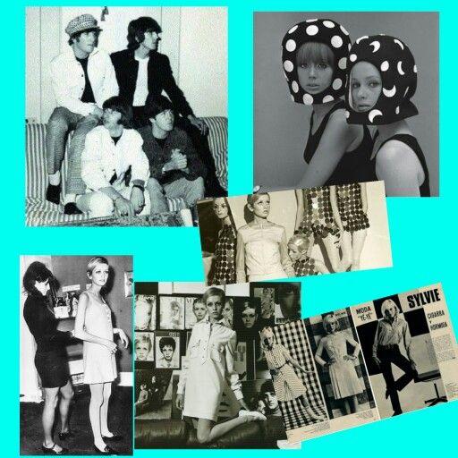"""Una década en donde todas las MUJERES MODERNAS E INDEPENDIENTES deseaban demostrar estas cuestiones CORTÁNDOSE EL PELO con un famoso corte que impuso MARY QUANT (apodada la reina de la MINIFALDA) que consistía en un peinado """"champiñón"""" como lo usaban los BEATTLES. El ideal de la década era no mostrar los atributos femeninos ni las curvas, sino, por el contrario PARECER DELGADAS ninfas que mostraban su LADO INFANTIL a modo de juego de seducción. La artificialidad de los años 50 había…"""
