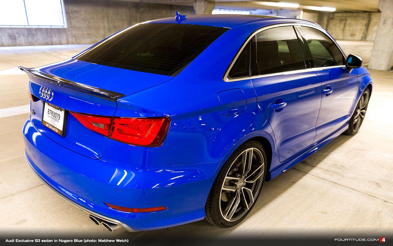 audi exclusive  sedan  nogaro blue photo matthew welch audi exclusive pinterest