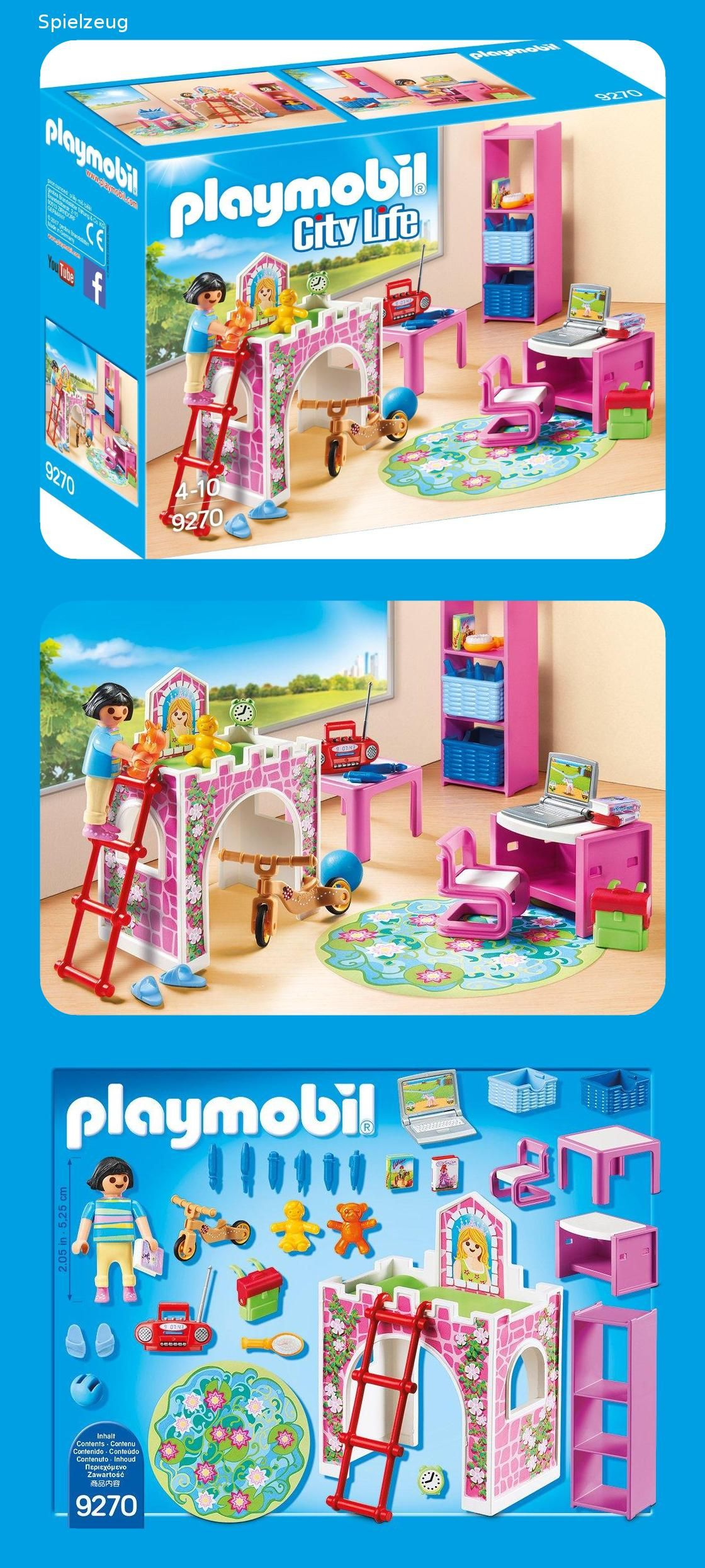 Playmobil 9270 - Fröhliches Kinderzimmer | Spielzeug ...