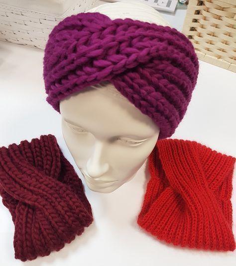 Photo of Stirnband, kostenlose beschreibungen, stricken,wolle,lana grossa,