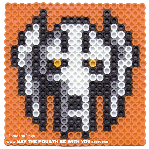 General Grievous: Star Wars Perler Beads By May The 4th Be