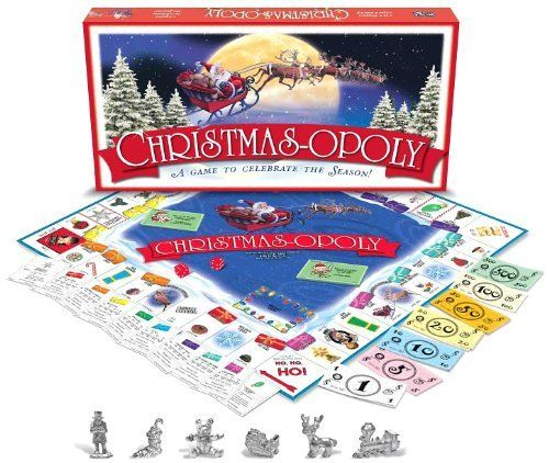 Christmas-opoly by Late for the Sky, http://www.amazon.com/dp/B001E2D4WE/ref=cm_sw_r_pi_dp_Ks5Gsb1A9VSE6