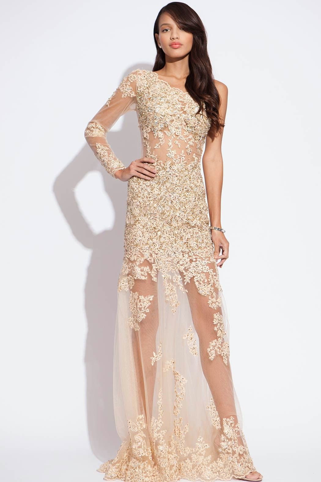 Jovani prom dress for cheap | Color dress | Pinterest | Lace, Prom ...