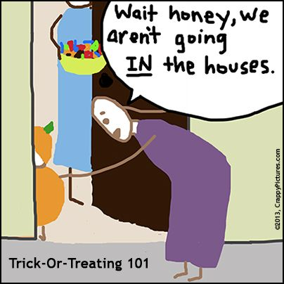 Trick-or-Treating 101: The Toddler Edition