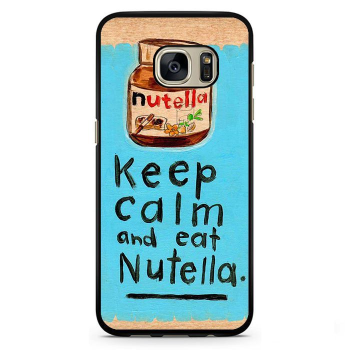KEEP CALM NUTELLA Samsung Phonecase For Samsung Galaxy S3 Samsung Galaxy S4 Samsung Galaxy S5 Samsung Galaxy S6 Samsung Galaxy S7