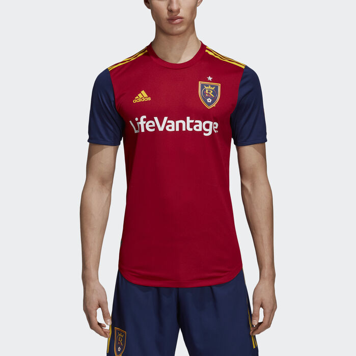 new style 37cf4 4177a adidas Real Salt Lake Home Authentic Jersey in 2019 ...