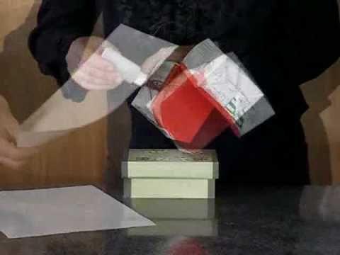 Como Fazer Fantoche de Caixa de Leite 02