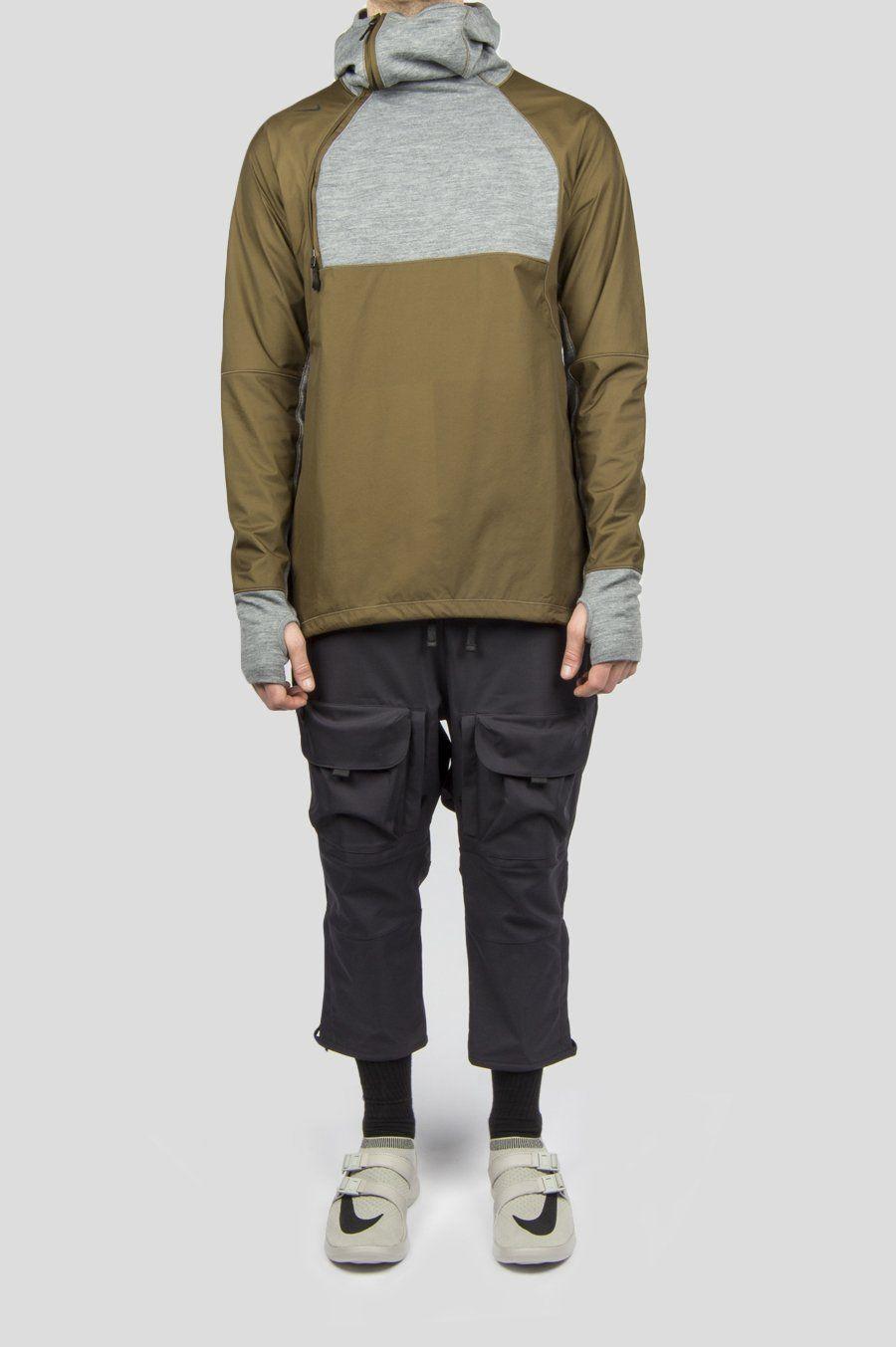 62bdd224545 NIKELAB AAE 1.0 3/4 CARGO PANT OILED GREY   F19   Cargo pants, Pants ...