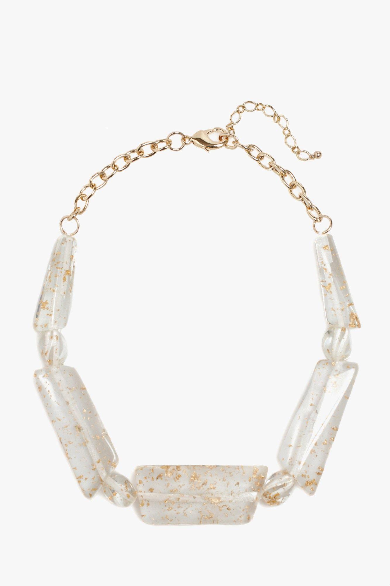 Gold Effect Necklace - new | Adolfo Dominguez shop online