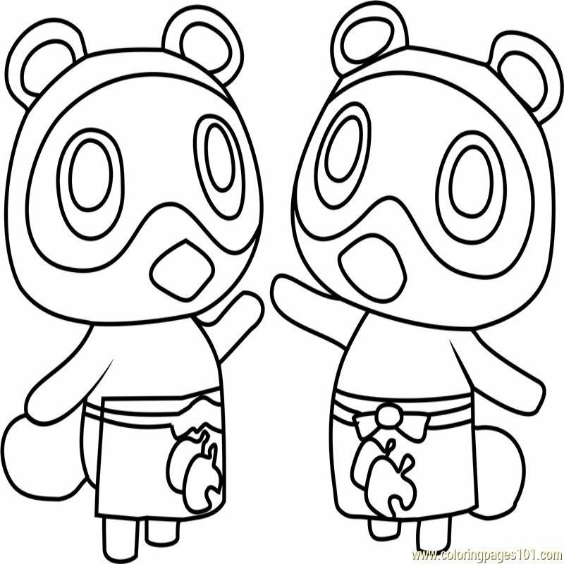 Animal Crossing Free Download And Printable Coloring Page Coloring Pages Printable Coloring Pages Animal Crossing