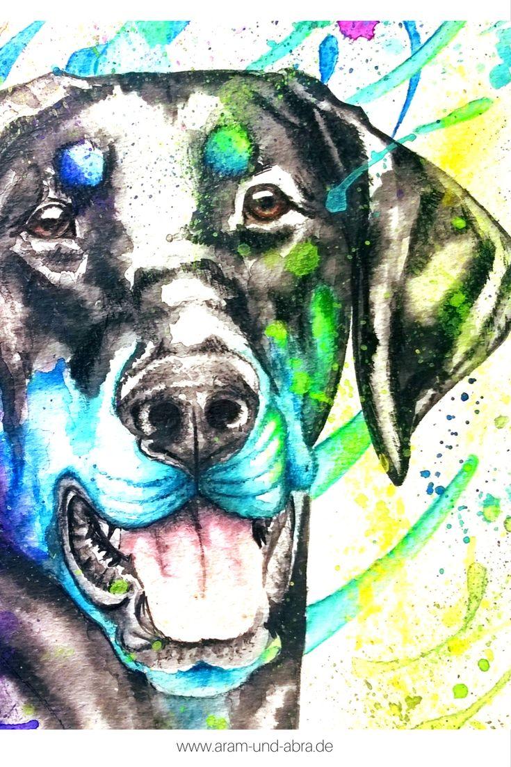 Illustrationen Und Portraits Hund Malen Hund Zeichnungen Und