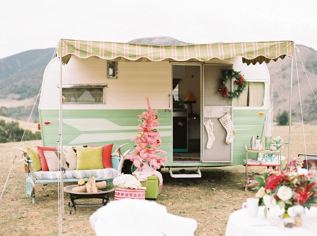 Photo of Little Vintage Camper Trailer Makeover – Vanchitecture