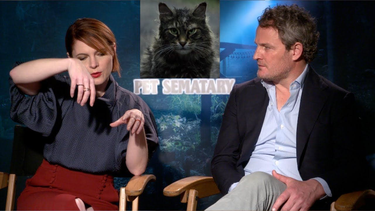 Jason Clarke Amy Seimetz On Burying Cats Which Barriers They