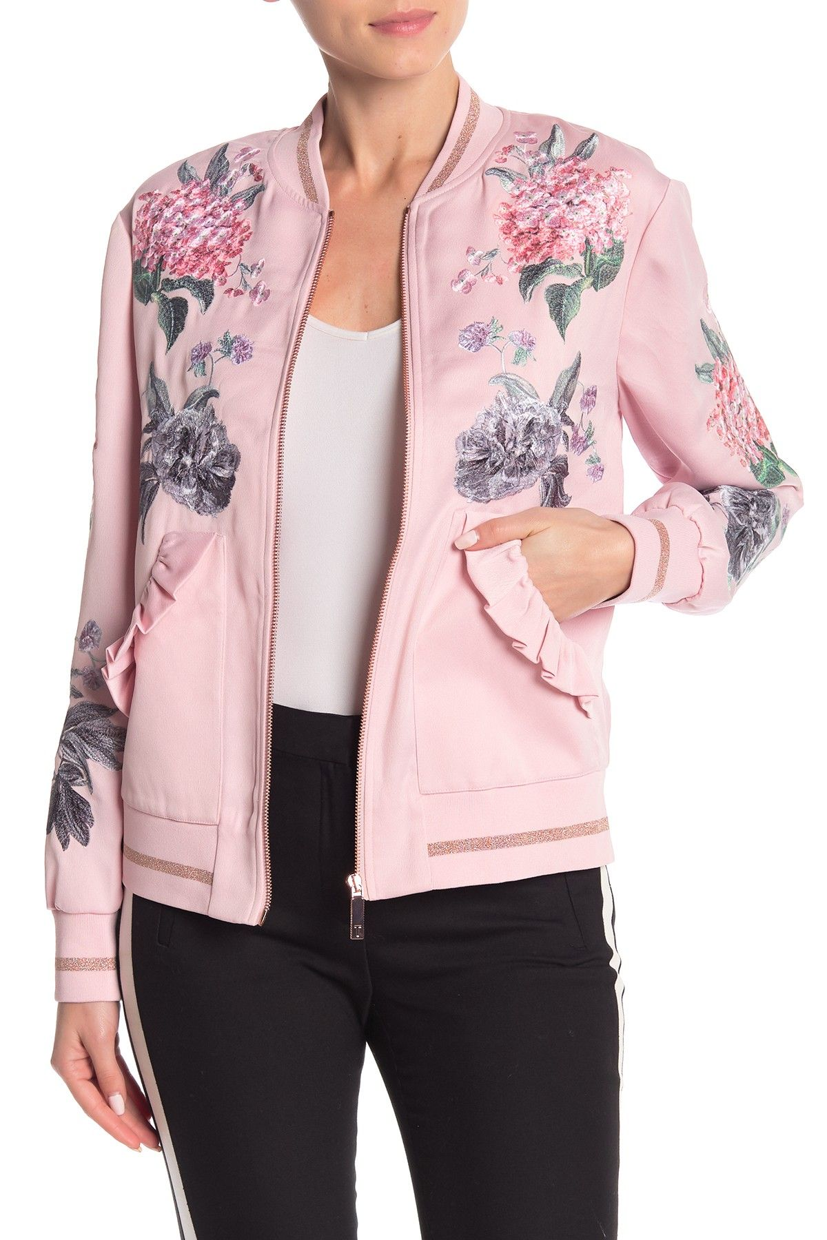 Ted Baker London Palace Gardens Ruffle Bomber Jacket Is Now 49 Off Free Shipping On Orders Over 100 Bomber Jacket Ted Baker London Ted Baker [ 1800 x 1200 Pixel ]