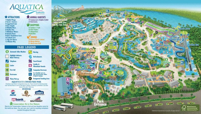 Aquatica Orlando S Year Round Water Park Magical Distractions Water Park Orlando Aquatica Orlando Orlando Travel