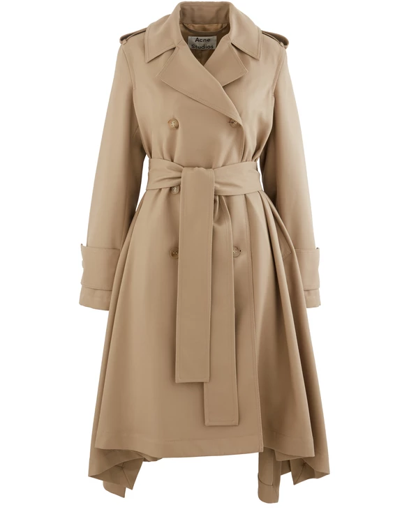Women S Olwen Trench Coat Acne Studios 24s Trench Coat Coat Outfit Inso