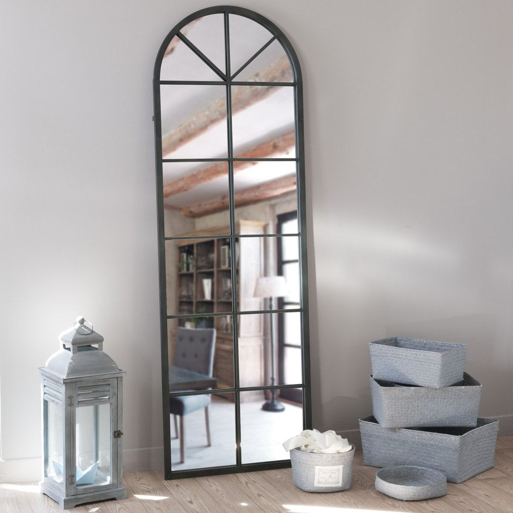 Metal mirror in black h cm home style items pinterest