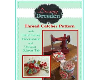 SEW IN STYLE Thread Catcher Sewing Pattern -Sewing Accessory…