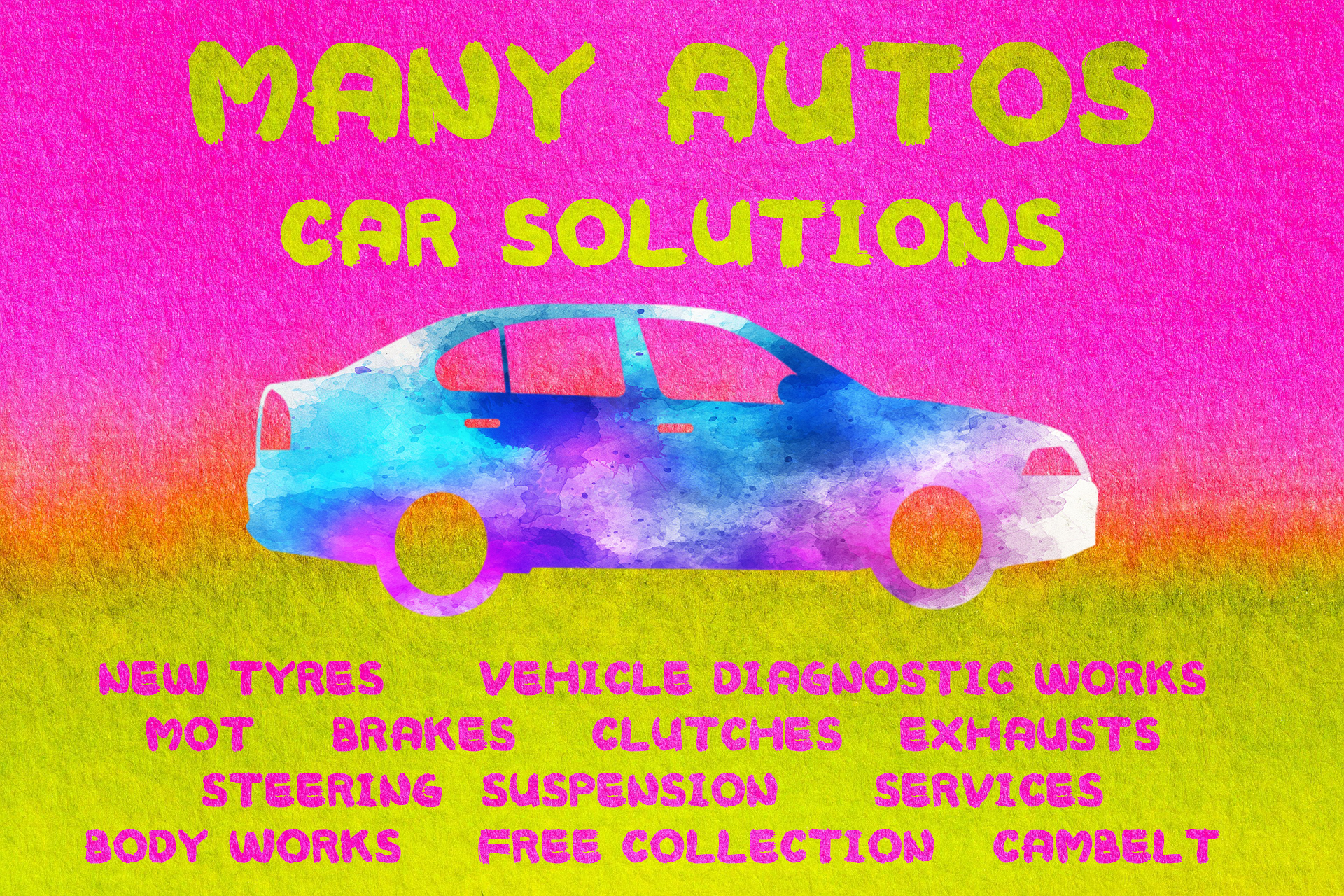 Many Autos All In One Car Solutions Engine repair , MOT