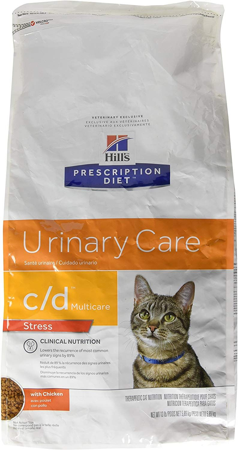 Hill S Prescription Diet C D Multicare Feline Stress Urinary Care Chicken 13lb Find Out More About The Great Product Prescription Cat Food Wet Cat Food