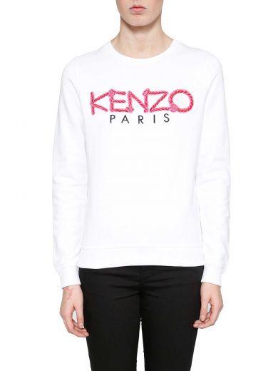 b4c8b4bd KENZO Kenzo 'kenzo Paris' Rope Sweatshirt. #kenzo #cloth #fleeces-tracksuits