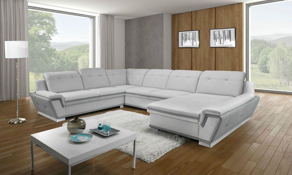 Couch Couchgarnitur Sofa Galactic Xl Sofagarnitur Polsterecke