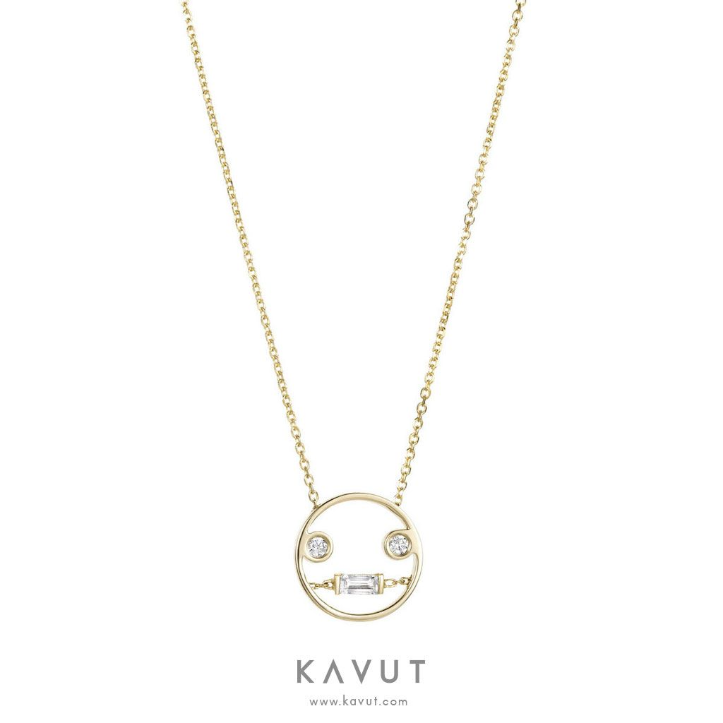 Ruifier LOL Pendant Necklace in Metallics N6QxDdT