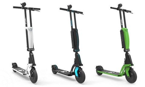 kleefer epure the world first electric scooter with a. Black Bedroom Furniture Sets. Home Design Ideas